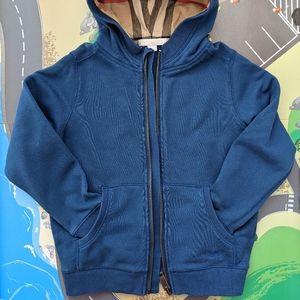 Burberry Children 5-6Y blue hoodie